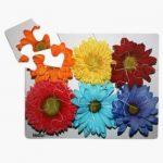 MindStart 12 Piece Flower Puzzle