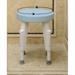 Rotating Round Shower Seat