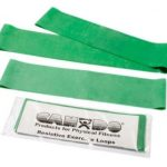 CanDo Exercise Band Loops Set of 3 Medium Resistance