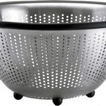 OXO Good Grips 5 Quart Stainless Steel Colander