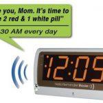 Reminder Rosie Personalized Voice Reminder Clock