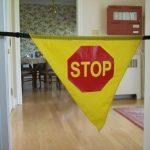 Safe-T-Mate Stop Sign Banner