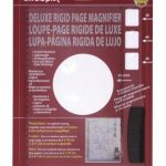 Ultra Optix Deluxe Rigid Page Lens 2X Magnifier