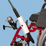 Fishing Rod Holder for Wheelchairs