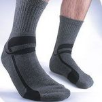 Silipos Gel Moisturizing Socks for Men