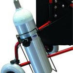Oxygen Tank Holder for Rollators