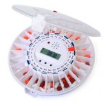 MED-E-LERT Automatic Pill Dispenser With Clear Top