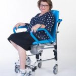 ErgoActive Mobile Commode Assist Chair