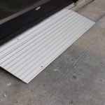 EZ Access 1 inch Aluminum Threshold Ramp