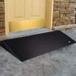 EZ Access 1.5 inch Beveled Edge Rubber Threshold Ramps