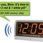 Reminder Rosie Voice Activated Clock