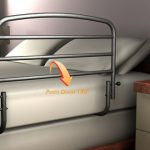 30 Inch Safety Bed Rail by Stander