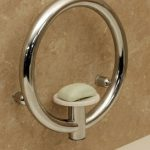 Invisia Soap Dish with Grab Bar