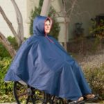 Wheelchair Rain Poncho Navy