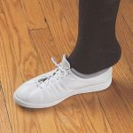 White Elastic Shoe Laces